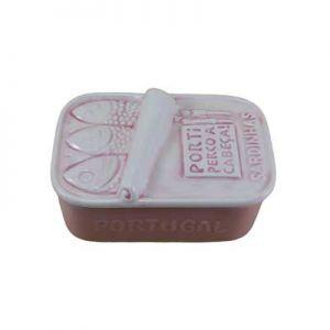 ceramica rosa aguado sardinha por ti perco cabeca